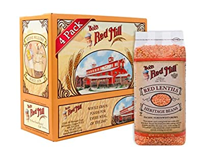 Bob's Red Mill Red Lentils, 27-Ounce Units (Pack of 4) from Bob's Red Mill