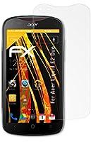 atFoliX FX-Antireflex Protection d'écran pour Acer Liquid E2 Duo (3 pièces) - protection d'écran antiéblouissante!