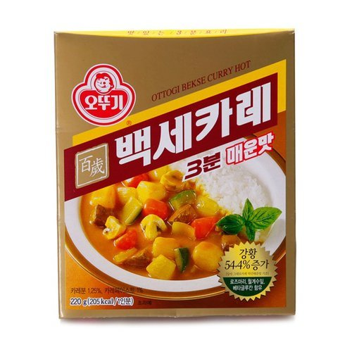 Ottogi 3 Minute Bekse Curry 230G For One Persons (Hot)
