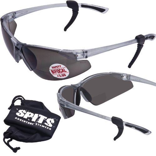 930fa1269d36 SPITS - Thresher Running -Cycling Bifocal Sunglasses - ANSI Z87.1+ Safety  Compliant