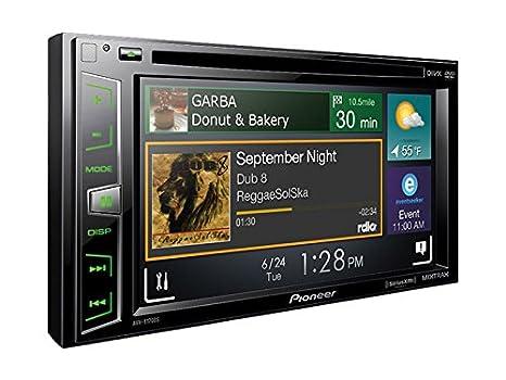 "Pioneer AVHX1700S Pioneer DDIN DVD receiver 6.2"" Sirius Maestro"