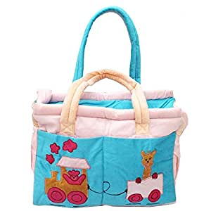 buy baby diaper bag mothers bag velvet pink online at. Black Bedroom Furniture Sets. Home Design Ideas