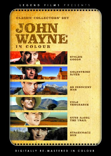 John Wayne - Classic Collectors Set (Digitally remastered in colour) (Stolen/Goldstrike/Innocent/Cold/Guns/Stagecoach) [DVD] [1933] [Edizione: Regno Unito]