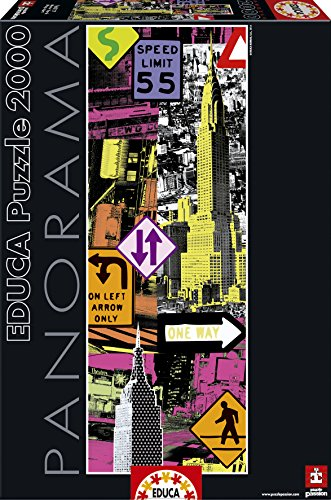 Educa 16017 – New York Pop Art, 2000 Teile Panorama