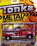Tonka Metal Vintage Fire Pumper Truck