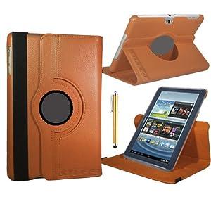 Stuff4 Stuff4 MR-GT27.0-L360 - Funda para tablet Samsung Galaxy Tab 2 7 (P3100 / P3110), naranja (orange)  Informática Revisión del cliente y la descripción más