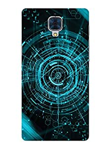 TREECASE Designer Printed Soft Silicone Back Case Cover For OnePlus 3 / Oneplus Three