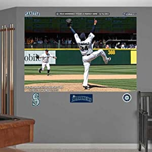 MLB Seattle Mariners Felix Hernandez Perfect Game Mural Wall Graphics by Fathead