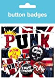 Music Badge Pack featuring A Cry for Anarchy with Punk Rock Designs 10x15cm