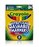 Crayola Washable Markers, Broad Point...