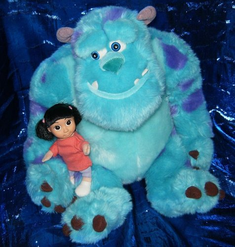 """Monster'S Inc. Sully With Boo 12"""" Plush Figure front-329905"""