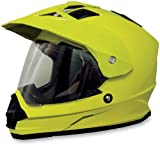 AFX FX-39 Solid Helmet , Size: Lg, Distinct Name: Hi-Vis Yellow, Primary Color: Yellow, Gender: Mens/Unisex, Helmet Type: Full-face Helmets, Helmet Category: Street 0110-2469