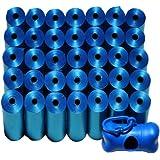 Poop Bag Shop Dog Waste Bags, 700-Count with Poop Bag Dispenser, Blue