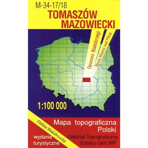 Tomaszow Mazowiecki Region Map
