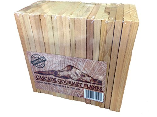 Check Out This 20 Cascade Gourmet Cedar Planks - Individual Serving (3.5 x 6.5 x 3/8)