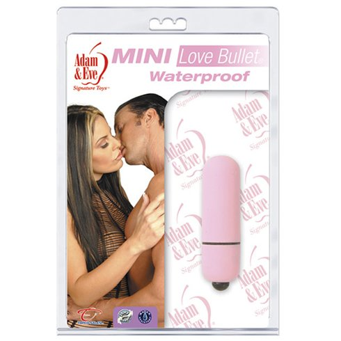 Adam & Eve Waterproof Mini Love Bullet, Please Me Pink