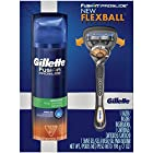 Fusion Proglide Manual Men's Razor With Flexball Handle Technology With 1 Razor Blade + Proglide Sensitive Shaving Gel 7 Oz