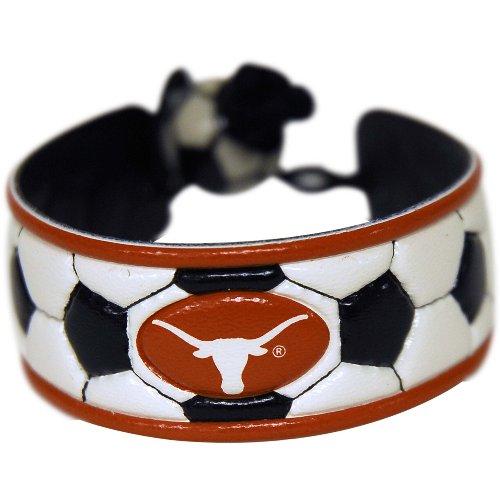 Texas Longhorns Classic Soccer Bracelet