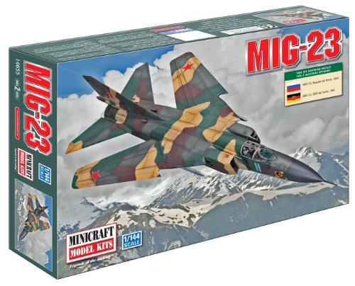 Minicraft MIG-23 USSR with 2 Marking Options, 1/144 Scale