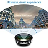 iPhone Lens, URPOWER Cell phone Lens Camera Lens 0.45X Super Wide Angle Lens + 10X Macro Lens Professional HD Clip-on Lens for iPhone 6s/ 6s plus, iPad Air/ Mini, Samsung Galaxy, Most Smartphones