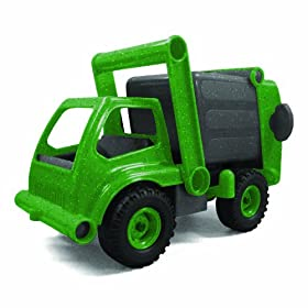Sprig Toys Eco Recycling-Truck [Amazon Frustration-Free Packaging]