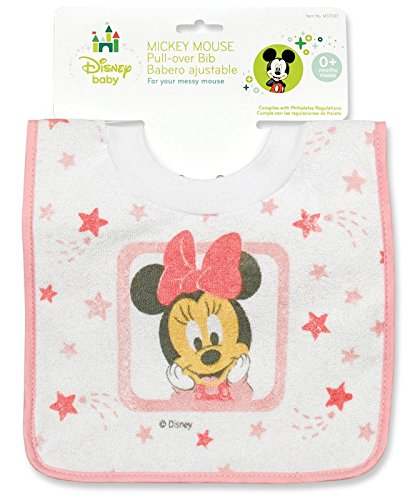 Minnie Mouse Baby Bib - 1