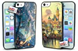 Disney Peter Pan and Disneyland Mickey Mouse Hard Case COMBO TWO PACK for iPhone 5c