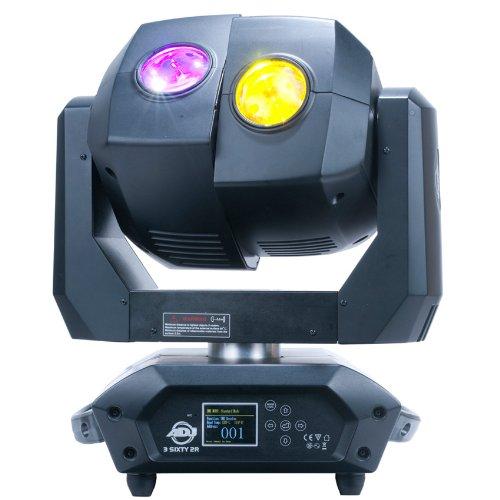 American Dj 3Sixty 2R Dual Moving Head Lighting Fixture