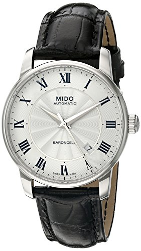 mido-herren-armbanduhr-baroncelli-analog-automatik-leder-m86004214