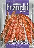 Franchi Dwarf French Bean - Fagiolo nano Borlotto di Vigevano
