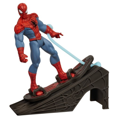 Spider-Man with Hover Board and Ramp
