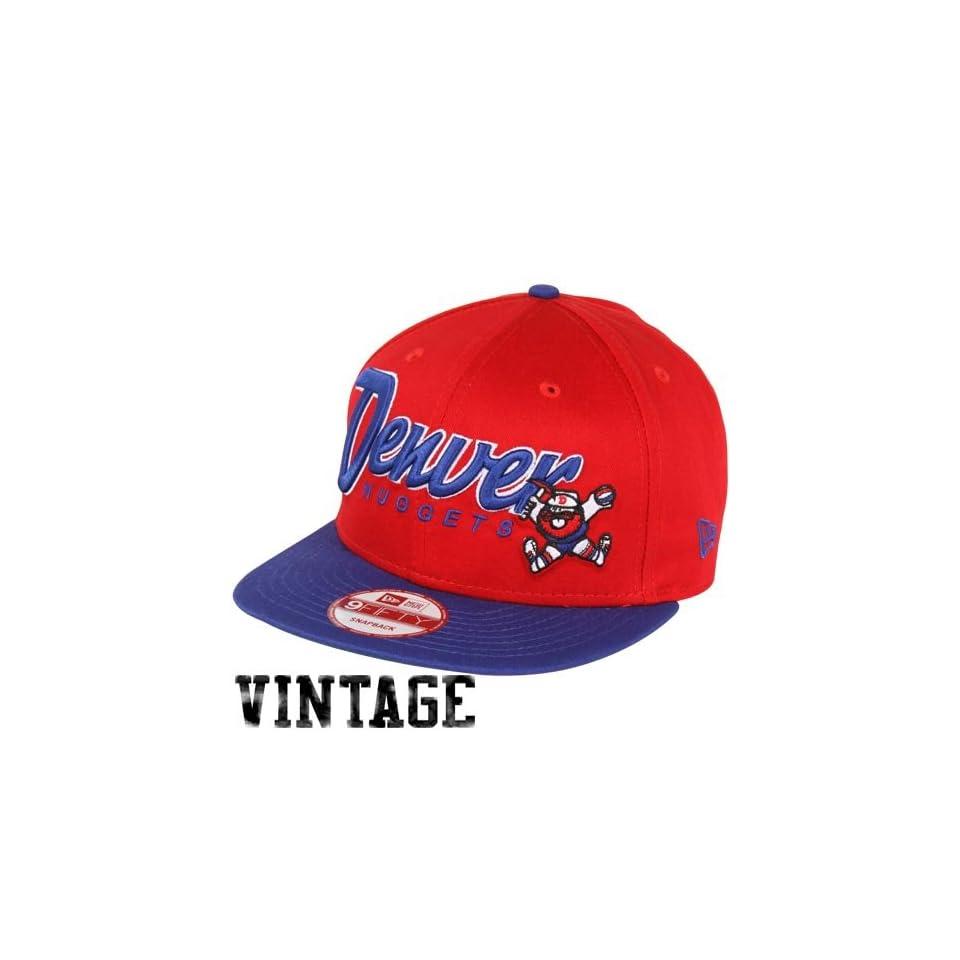 the latest 85f0f dd813 Denver Nuggets Gear New Era Denver Nuggets Snap It Back Snapback Hat Red  Royal Blue