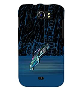 PrintDhaba Car D-2625 Back Case Cover for MICROMAX A110 CANVAS 2 (Multi-Coloured)