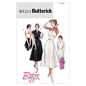 Butterick Patterns B5214 Misses' Jacket, Dress and Belt, Size BB (8-10-12-14)