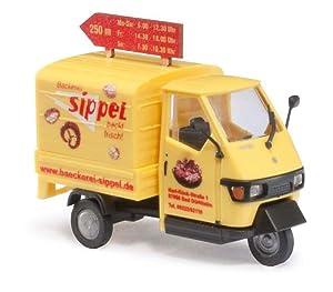 Amazon.com: HO Scale Piaggio Ape 50 Sippel: Toys & Games