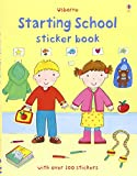 Starting School Sticker Book (Usborne Sticker Books)