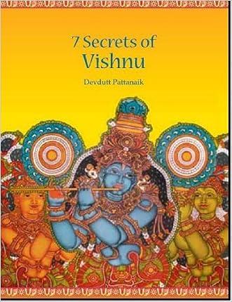 Seven secrets of Vishnu written by DEVDUTT PATTANAIK