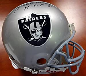 George Blanda Autographed Hand Signed Oakland Raiders Full Size Authentic Helmet... by Hall of Fame Memorabilia