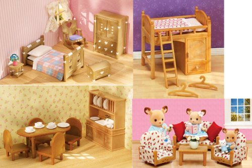 Country Bedroom Dining Room Sisters Loft Bed And Living Rooms Suite