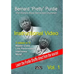 "Bernard ""Pretty"" Purdie Instructional Video Volume 1"