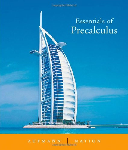 Essentials Of Precalculus