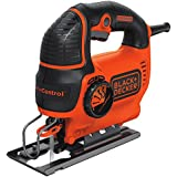 BLACK + DECKER BDEJS600C Smart Select Jig Saw, 5.0-Amp
