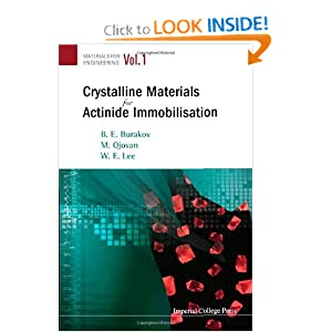 Crystalline Materials for Actinide Immobilisation cover