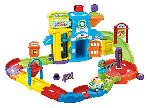 VTech-Toy-Children-Ages-1-to-5-Go-Go-Smart-Wheels-Police-Station-Playset