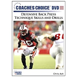 Defensive Back Press Technique Skills and Drills