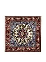 Eden Carpets Alfombra Qom Sh Cielo/Multicolor 200 x 200 cm