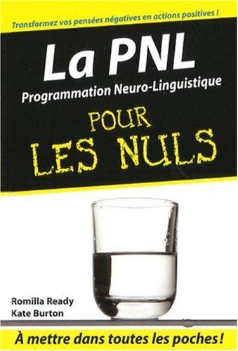 Livre la pnl programmation neuro linguistique pour les nuls - L immobilier pour les nuls ...