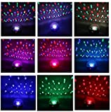 IMAGE 5ミックス色ミニ20W DMX音声起動 LEDRGB LED ステージライト Crystal Ball 【舞台照明】