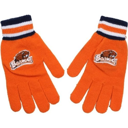 Ncaa Oregon State Beavers Team Knit Gloves