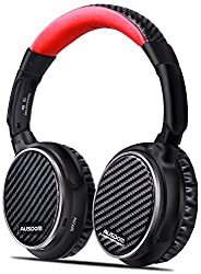 AUSDOM ANC 7 Active Noise Canceling Over Ear Headphones with Mic, Wireless Bluetooth apt-X HiFi Stereo Headsets Comfortable Foldable Earpads with Carrying Case for Travel,iPhone,Android,PC,TV from AUSDOM
